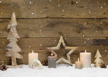 Kerzen in der Weihnacht